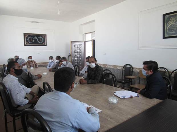 برگزاری نشست آگاهی بخشی و اطلاع رسانی در روستای چاهداشی نهبندان
